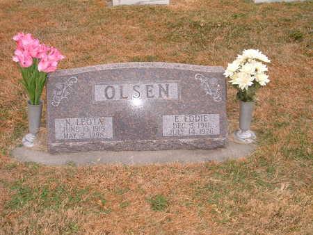 OLSEN, N. LEOTA (NELLIE LEOTA) - Shelby County, Iowa | N. LEOTA (NELLIE LEOTA) OLSEN