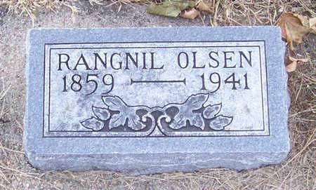 OLSEN, RANGNIL - Shelby County, Iowa | RANGNIL OLSEN