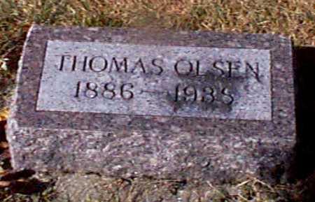 OLSEN, THOMAS - Shelby County, Iowa | THOMAS OLSEN