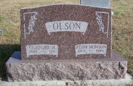 OLSON, CLIFFORD H. - Shelby County, Iowa | CLIFFORD H. OLSON
