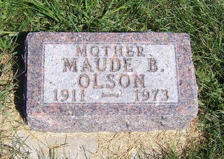 OLSON, MAUDE B. (MOTHER) - Shelby County, Iowa | MAUDE B. (MOTHER) OLSON