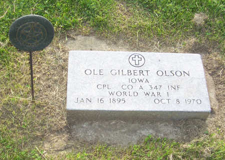 OLSON, OLE GILBERT - Shelby County, Iowa | OLE GILBERT OLSON