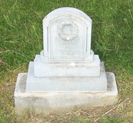 ORRIS, JOSEPH - Shelby County, Iowa | JOSEPH ORRIS