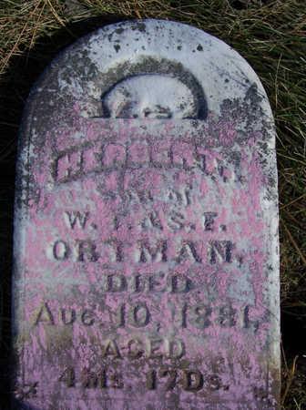 ORTMAN, HERBERT - Shelby County, Iowa | HERBERT ORTMAN