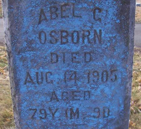 OSBORN, ABEL C. - Shelby County, Iowa   ABEL C. OSBORN