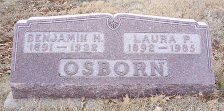 OSBORN, LAURA P. - Shelby County, Iowa   LAURA P. OSBORN