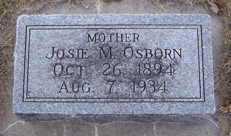 OSBORN, JOSIE M. (MOTHER) - Shelby County, Iowa | JOSIE M. (MOTHER) OSBORN