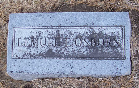 OSBORN, LEMUEL E. - Shelby County, Iowa | LEMUEL E. OSBORN