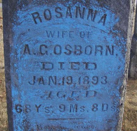 OSBORN, ROSANNA (CLOSE-UP) - Shelby County, Iowa   ROSANNA (CLOSE-UP) OSBORN
