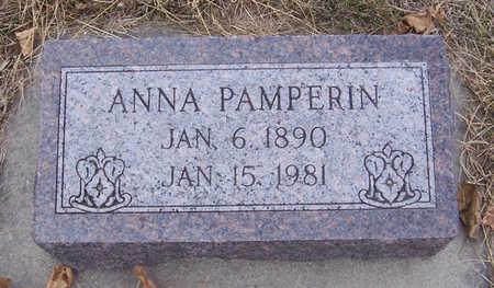 PAMPERIN, ANNA - Shelby County, Iowa | ANNA PAMPERIN
