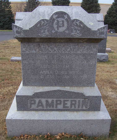PAMPERIN, JOHN H. F. - Shelby County, Iowa   JOHN H. F. PAMPERIN