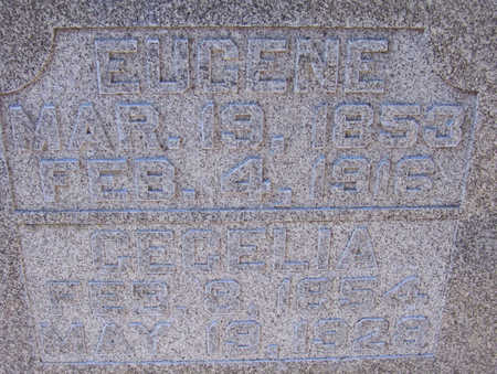 PARKER, EUGENE (CLOSE-UP) - Shelby County, Iowa | EUGENE (CLOSE-UP) PARKER