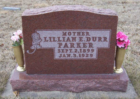 DURR PARKER, LILLIAN E. (MOTHER) - Shelby County, Iowa | LILLIAN E. (MOTHER) DURR PARKER