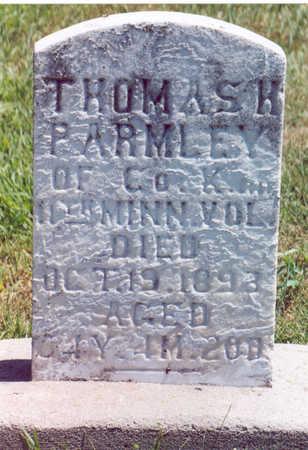 PARMLEY, THOMAS H. - Shelby County, Iowa | THOMAS H. PARMLEY