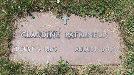 PATRINELIS, CLAUDINE - Shelby County, Iowa | CLAUDINE PATRINELIS