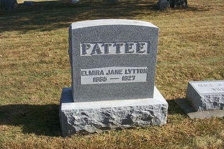 PATTEE, ELMIRA JANE - Shelby County, Iowa   ELMIRA JANE PATTEE
