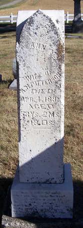 PATTERSON, ANN M. - Shelby County, Iowa | ANN M. PATTERSON