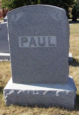 PAUL, JOHN & MARGARET (LOT) - Shelby County, Iowa   JOHN & MARGARET (LOT) PAUL