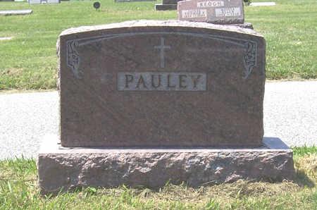 PAULEY, JOHN JOSEPH & MARY C. (LOT) - Shelby County, Iowa   JOHN JOSEPH & MARY C. (LOT) PAULEY