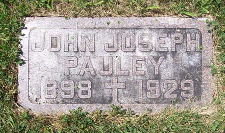 PAULEY, JOHN JOSEPH - Shelby County, Iowa | JOHN JOSEPH PAULEY