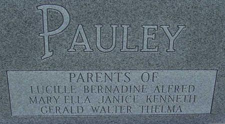 PAULEY, LEO & LOUISE (REVERSE) - Shelby County, Iowa | LEO & LOUISE (REVERSE) PAULEY