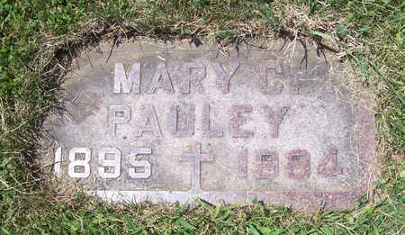 PITSCH PAULEY, MARY C. - Shelby County, Iowa | MARY C. PITSCH PAULEY