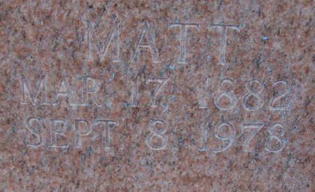 PAULEY, MATT (CLOSE-UP) - Shelby County, Iowa | MATT (CLOSE-UP) PAULEY