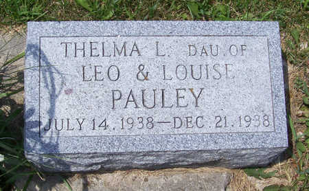 PAULEY, THELMA L. - Shelby County, Iowa | THELMA L. PAULEY