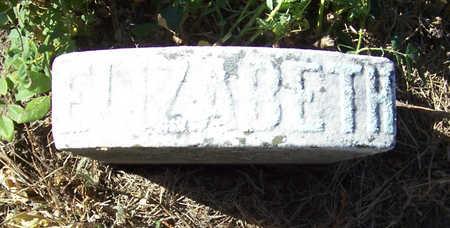 PAYNE, ELIZABETH - Shelby County, Iowa   ELIZABETH PAYNE