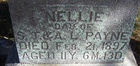 PAYNE, NELLIE (CLOSE-UP) - Shelby County, Iowa   NELLIE (CLOSE-UP) PAYNE