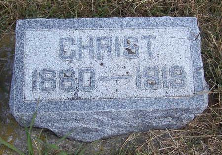 PEDERSEN, CHRIST - Shelby County, Iowa | CHRIST PEDERSEN