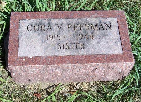 PEERMAN, CORA V. (SISTER) - Shelby County, Iowa | CORA V. (SISTER) PEERMAN