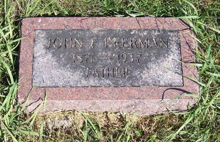 PEERMAN, JOHN E. (FATHER) - Shelby County, Iowa | JOHN E. (FATHER) PEERMAN