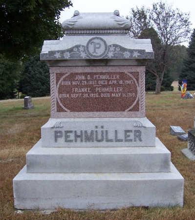 PEHMULLER, JOHN D. - Shelby County, Iowa | JOHN D. PEHMULLER
