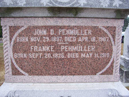 PEHMULLER, JOHN D. (CLOSE-UP) - Shelby County, Iowa | JOHN D. (CLOSE-UP) PEHMULLER