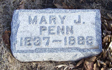PENN, MARY J. - Shelby County, Iowa | MARY J. PENN