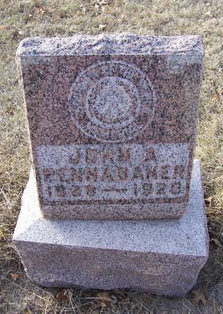 PENNABAKER, JOHN A. - Shelby County, Iowa | JOHN A. PENNABAKER