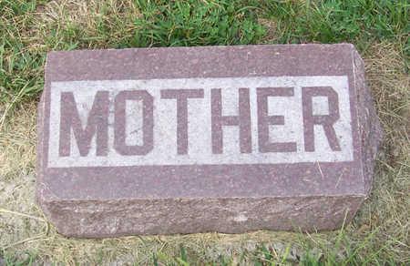 PENNISTON, EMMA (MOTHER) - Shelby County, Iowa | EMMA (MOTHER) PENNISTON