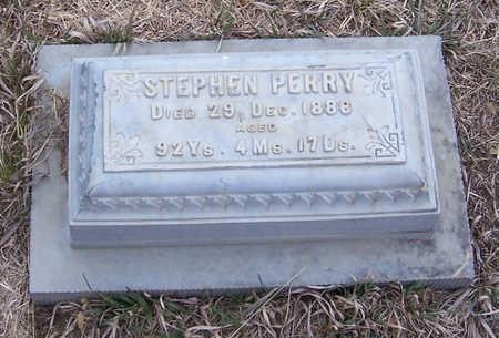 PERRY, STEPHEN - Shelby County, Iowa | STEPHEN PERRY