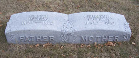 PETERS, FRITZ (FATHER) - Shelby County, Iowa | FRITZ (FATHER) PETERS