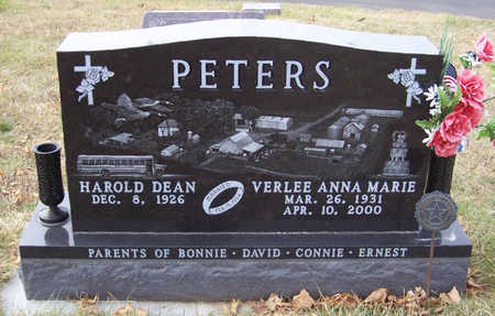 PETERS, HAROLD DEAN - Shelby County, Iowa | HAROLD DEAN PETERS