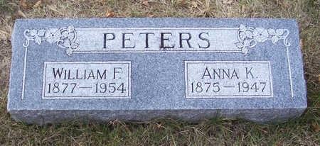 PETERS, WILLIAM F. - Shelby County, Iowa | WILLIAM F. PETERS
