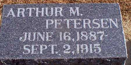 PETERSEN, ARTHUR M - Shelby County, Iowa | ARTHUR M PETERSEN