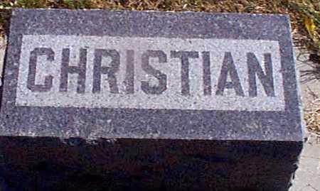 PETERSEN, CHRISTIAN - Shelby County, Iowa | CHRISTIAN PETERSEN