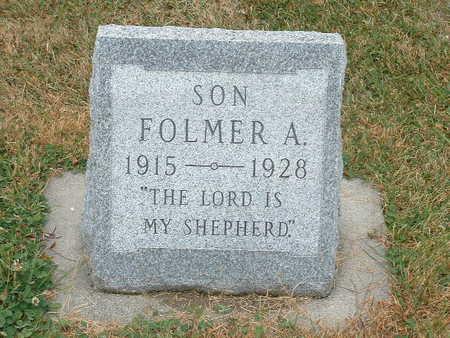 PETERSEN, FOLMER A - Shelby County, Iowa | FOLMER A PETERSEN