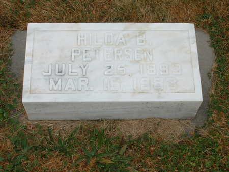 PETERSEN, HILDA B - Shelby County, Iowa   HILDA B PETERSEN