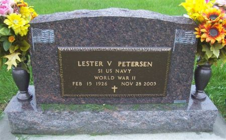 PETERSEN, LESTER V. (MILITARY) - Shelby County, Iowa   LESTER V. (MILITARY) PETERSEN