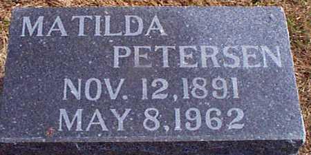 PETERSEN, MATILDA - Shelby County, Iowa | MATILDA PETERSEN