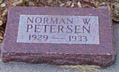 PETERSEN, NORMAN W - Shelby County, Iowa | NORMAN W PETERSEN