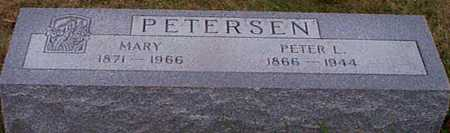 PETERSEN, MARY - Shelby County, Iowa | MARY PETERSEN